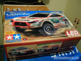 Tamiya RC Mitsubishi Racing Lancer (58421)