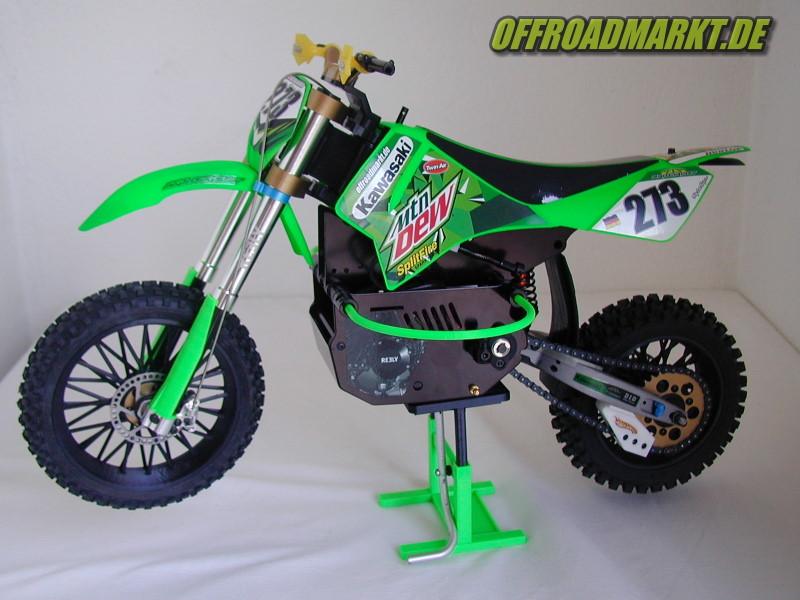 RC Motorrad ARX 540 BSD Reely Dirtbike Rear Spoke Wheel 2