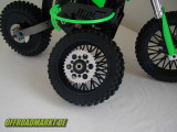 RC Motorrad ARX 540 BSD Reely Dirtbike Rear Spoke Wheel 1