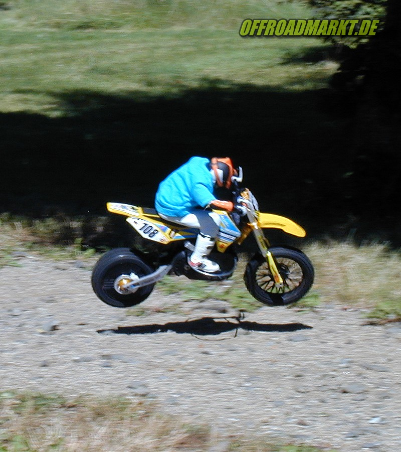 ARX 540 / Reely Dirtbike Spoke Front Wheel / Speichenrad Vorne 4