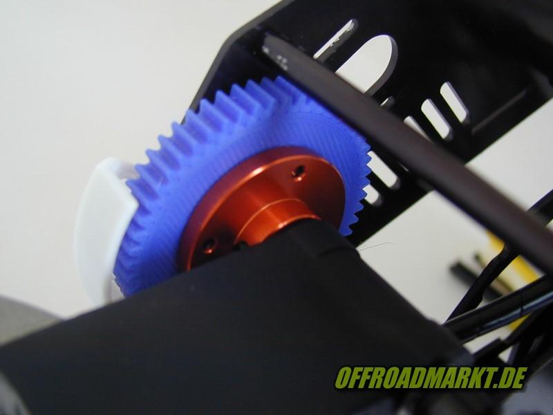 RC Motorcycle ARX 540, reely, BSD 57, 54, 52 upgrade gear set 2