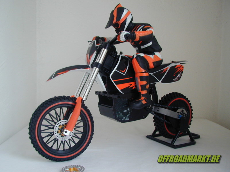 ARX 540 / Reely Dirtbike Spoke Front Wheel / Speichenrad Vorne 2
