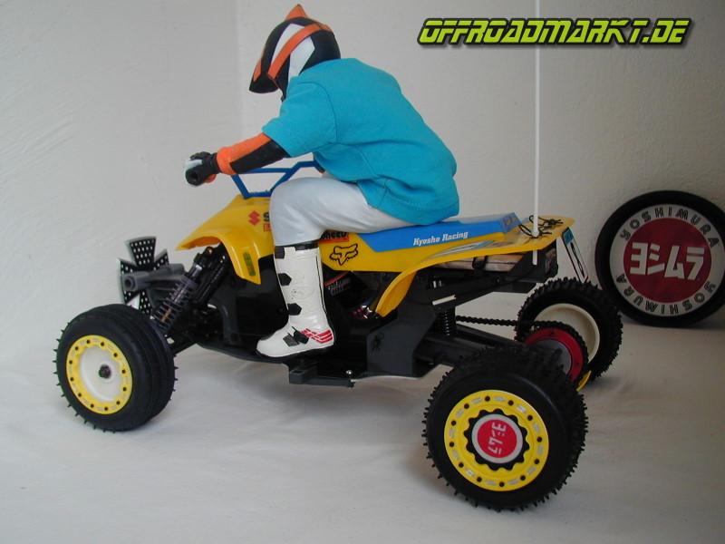 Beadlocks mit Mud Plugs für 1-4 RC KYOSHO ATV Quad Rider 2