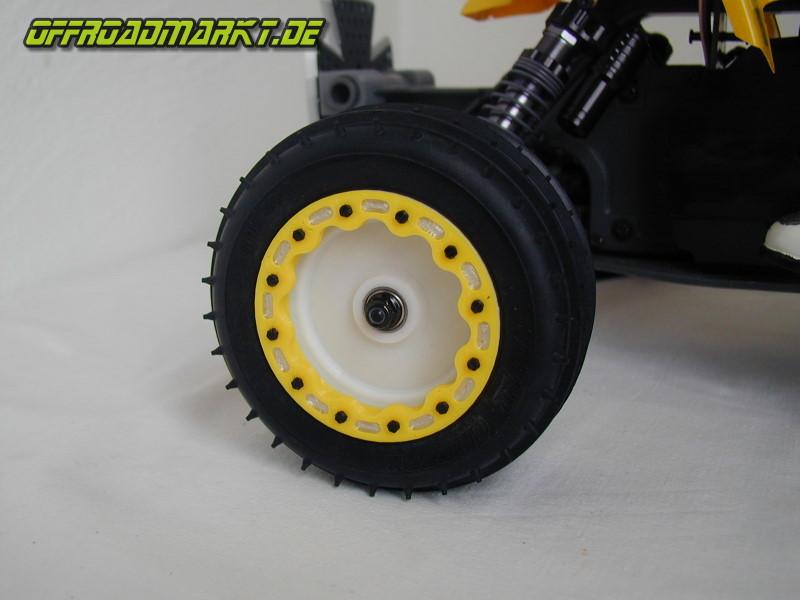 Beadlocks mit Mud Plugs für 1-4 RC KYOSHO ATV Quad Rider 3