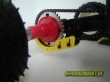 Kettenschutz Set für das 1:4 KYOSHO ATV Quad 1