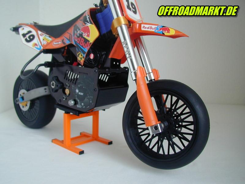 RC Bike 1/4 Supermoto Motard Spoke Wheel, BSD, X-Rider, ARX540 2