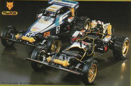 Tamiya 58051 The Fox