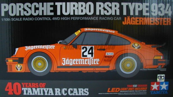 Tamiya Porsche 934 40th box