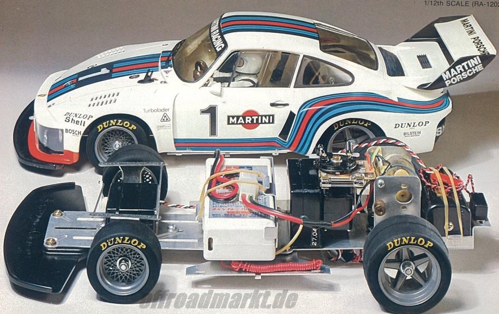 Tamiya Martini Porsche 935 Turbo 58002