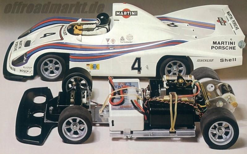 Tamiya Martini Porsche 936 Turbo 58006