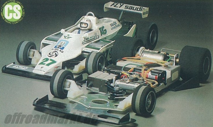Tamiya Williams FW07 (CS) 58019