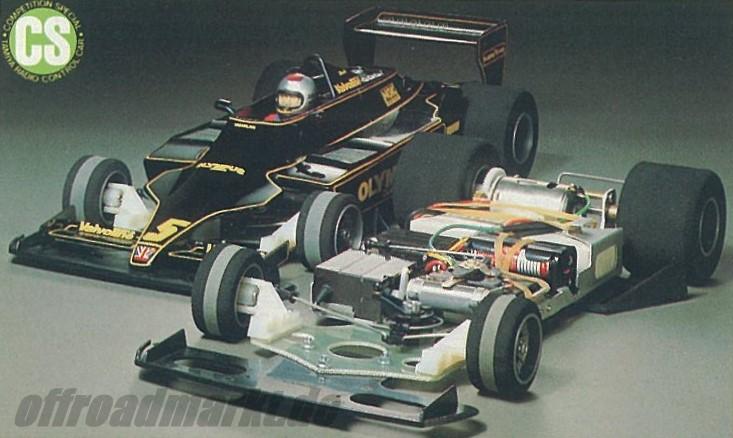 Tamiya JPS Lotus 79 (CS) 58020