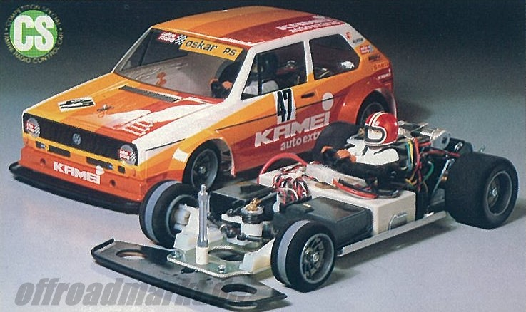 Tamiya VW Golf Racing Group 2 58025