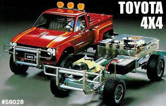 Tamiya Toyota 4x4 Pick Up 58028