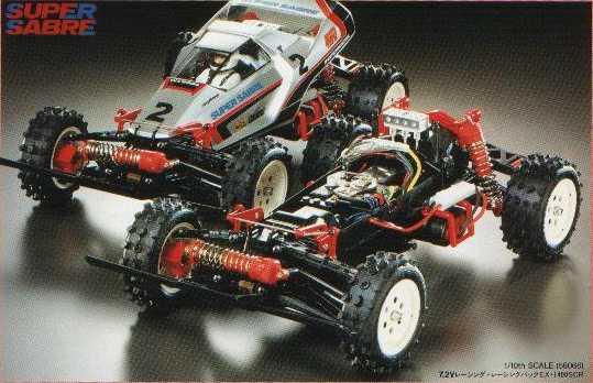 Tamiya Super Sabre 58066
