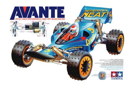 Tamiya Avante 58072