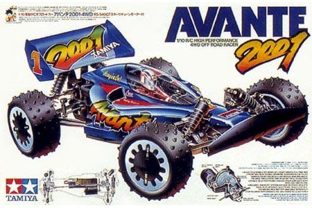 Tamiya Avante 2001 58085