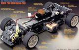 58177 Tamiya TA03-F Pro Belt Drive Chassis